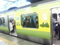 山手線ADトレイン ミッフィー電車