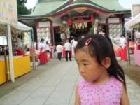 千葉稲毛浅間神社のお祭りにいったよ